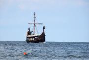 Захоронение викингов с 20-метровым кораблем нашли в Норвегии