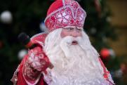 Главный российский Дед Мороз зажег новогоднюю ель в Музее Победы. ФОТОРЕПОРТАЖ
