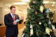 Запах елки, оливье и планы на будущее. С чем ассоциируется Новый год у губернаторов Поволжья