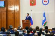 Глава Республики Саха обратился к гражданам и депутатам с посланием