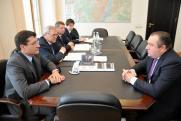 Никитин встретился с президентом ОСК Алексеем Рахмановым