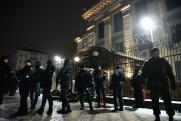 Неизвестные в Киеве попытались взять штурмом отделение полиции