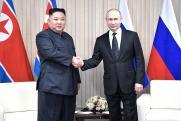 Ким Чен Ын вручил Путину «меч силы»