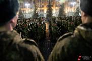 Сотни военных соберутся сегодня в центре Екатеринбурга на первой репетиции парада Победы