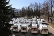 Медучреждения Нижегородской области получили новые машины скорой помощи