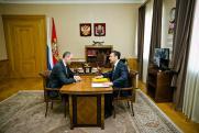 Паслер обсудил с Игорем Сухаревым восстановление храмов Оренбуржья