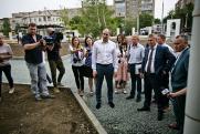 Денис Паслер проверил ход ремонта дорог в Орске