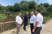 В Карачаево-Черкесии начались работы по восстановлению моста, поврежденного в результате паводков