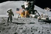 Опубликованы пять самых популярных мифов о высадке людей на Луну