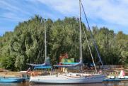 Яхта «Сибирь» отправилась в кругосветку