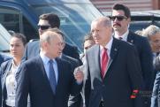 Путин показал Эрдогану истребитель Су-57