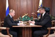 Александр Осипов обсудил с Путиным план развития Забайкалья