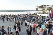 Центральная площадка празднования Дня российского флага объединила 3200 пермяков