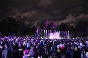 В Новосибирске заработал «умный» фонтан с синхронизацией цвета и напора струи