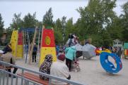 «ФОРЭС» построил «петербургскую» детскую площадку в Сухом Логу
