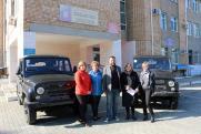 Приморская больница получила новые машины от фонда «Восточный порт»