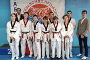 Команда Восточного порта выиграла 9 медалей на турнире тхэквондо