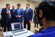 Михаил Котюков и Глеб Никитин посетили Центр инновационного развития медицинского приборостроения ННГУ