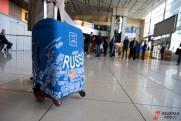 Пассажир забыл сумку с миллионом рублей на стойке регистрации аэропорта Стригино