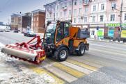 Пермские подрядчики приобрели 60 единиц новой снегоуборочной техники