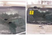 Тобольские полицейские возбудили уголовное дело из-за обстрела машины с четырьмя маленькими детьми