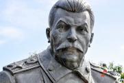 В Самару вернулся Сталин. Неизвестные повесили портрет вождя народов на «Доме печати»