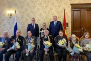 Цуканов и Текслер вручили челябинским ветеранам юбилейные медали