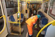 Общественный транспорт Самары дезинфицируют дважды в сутки