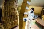 До конца недели нуждающиеся южноуральцы получат около 4 тысяч наборов с продуктами