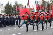 Самарская область приняла военный парад в честь 75-летия Победы