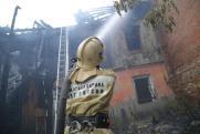 Курганский блогер потребовал от мэрии принять меры по недопущению пожаров в старых домах