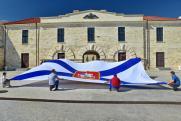 В Севастополе в День ВМФ будет поднят самый большой военно-морской флаг в России
