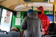 Проверкой соблюдения масочного режима в общественном транспорте Екатеринбурга займется Росгвардия