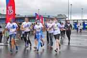 Команда АПЗ выступила на благотворительном марафоне «Беги, герой!»