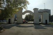 В Кургане местные власти перекрыли вход в горсад
