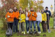 Молодые специалисты «РН-Юганскнефтегаза» провели субботник и высадили деревья