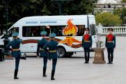 Частица Вечного огня перенесена на мемориал энергетикам-героям в Туле