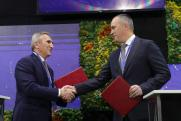 В рамках ТНФ-2020 Александр Моор подписал соглашения с  профильными компаниями
