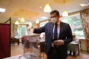Глеб Никитин проголосовал на выборах в городскую думу Нижнего Новгорода
