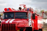 Пожар на военном складе в Рязанской области локализовали
