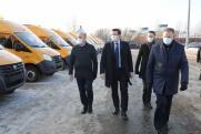 Нижегородские школы получат 70 новых автобусов
