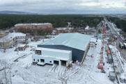 Ледовый дворец в Канске строят с опережением графика