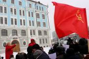 Петербургские коммунисты провели публичную акцию после запрета митинга