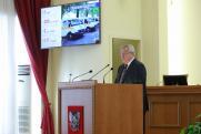 Губернатор Ростовской области Василий Голубев выступил с отчетом за 2020 год