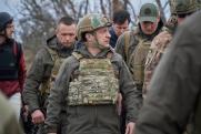 Зеленский прибыл на границу с Крымом