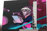 Мэр Флоренции оценил граффити на стене челябинского дома