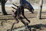 Курганский урбанист о появлении скульптуры Чужого в ЦПКиО: «Кто-то живет в нереальном мире»