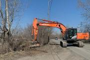 В Кургане начался ремонт дороги, который сорвал предыдущий подрядчик