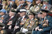 В Екатеринбурге главными участниками парада Победы стали ветераны