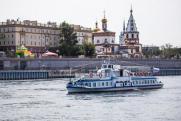 После коронавирусных ограничений в Иркутске заработали речные трамваи